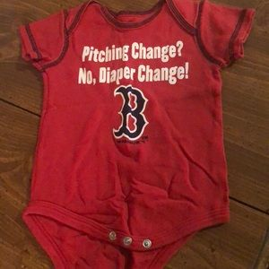 Other - 12 Months Red Sox Onesie